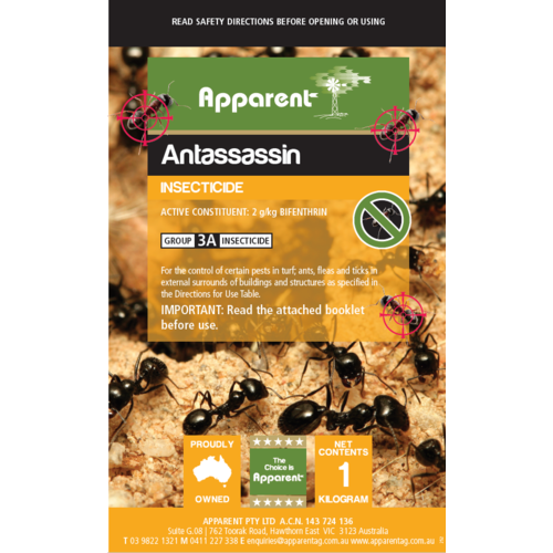 Apparent Antassassin Ant Sand Insecticide Image