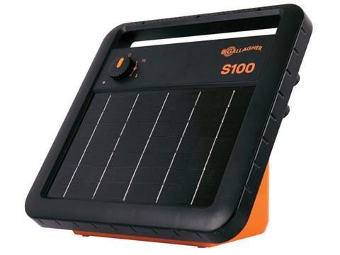 S100 Portable Solar Fence Energizer Image